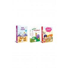 5 Renk Yayınevi 1. Sınıf Hikaye Kitabı Seti 30 Kitap Akıl Küpü/Şekerpare/Bilge Salyangoz