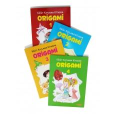 Origami – Kağıt Katlama Kitabım (4 Kitap)