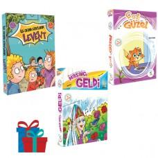 5 Renk Yayınevi 1.Sınıf Masalcı Geldi-Çok Güzel Hikaye Seti Timaş Yayınları İlk Okuma Kitaplarım Levent 1.Sınıf