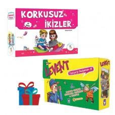 5 Renk Yayınevi Korkusuz İkizler Hikaye Seti -Timaş Çocuk Levent Türkiye'yi Geziyorum-3 Hikaye Seti
