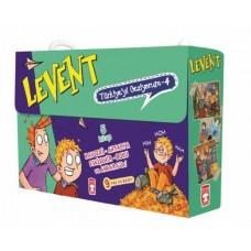 Levent Türkiye'yi Geziyorum 4 Set – (5 Kitap)