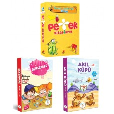 1.Sınıf Akıl Küpü-Şekerpare Hikaye Seti- Erdem Yayınları 1. Sınıf Petek Kitaplarım Hikaye Seti