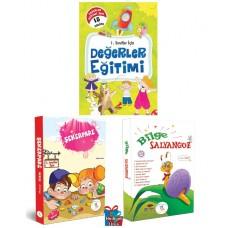 5 Renk Yayınevi 1.Sınıf Şekerpare-Bilge Salyangoz Hikaye Seti-Erdem Yayınları 1. Sınıf Değerler Eğitimi Hikaye Seti